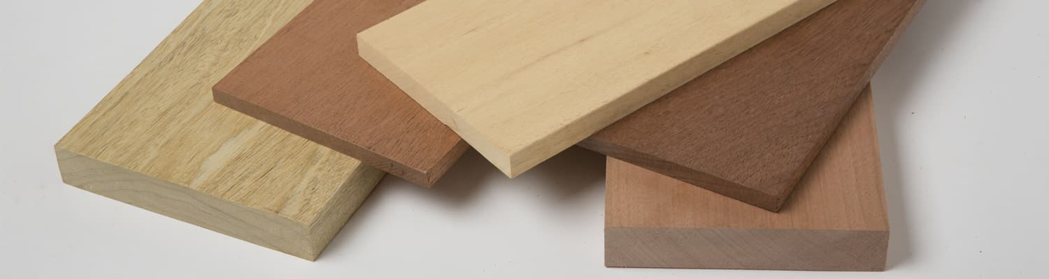 Hardwood and softwood dimensional lumber